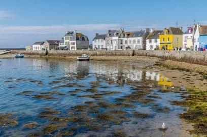 #îledeSein #port #quai #reflets
